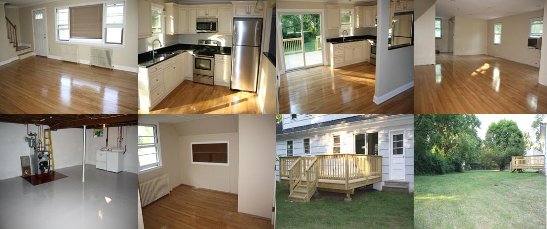 for rent in denville completely updated 4 bedroom house